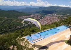 ultimas casas campestres de 876 hasta 1251 mt2 en san gil via mogotes con piscina infinita separe la súya