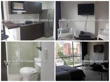 apartaestudio loft amoblado en renta - calasanz cod 12557